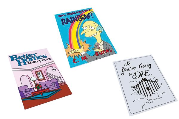 As–Seen–on–The Simpsons Books