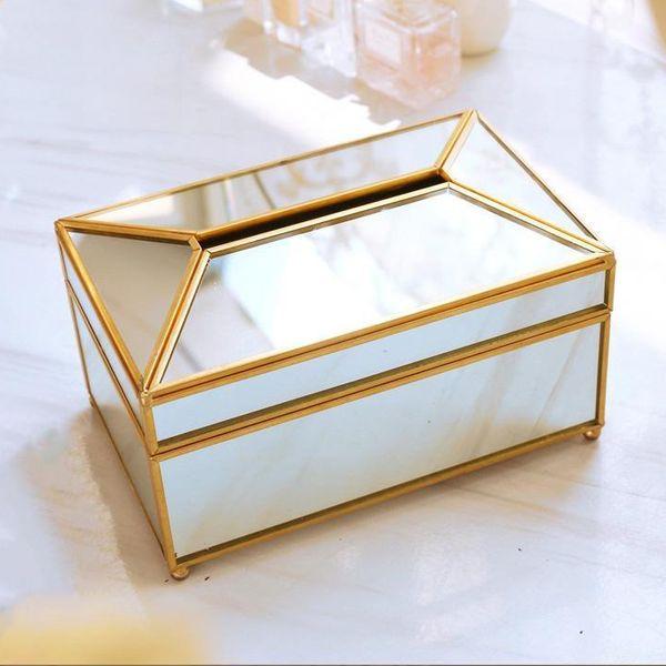 KLEEN-X™ GOLDEN MIRROR TISSUE BOX
