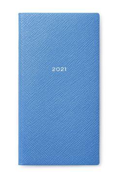 Smythson 2021 Wafer Agenda With Pocket