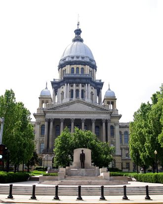 Illinois State Capital.
