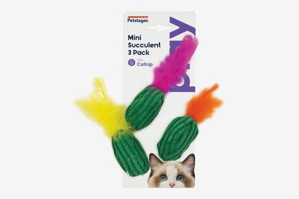 Petstages Mini Succulent Cat Toys