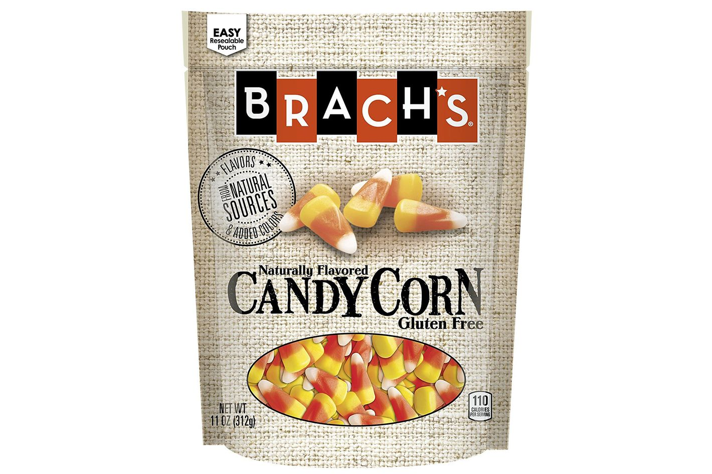 Brach's Natural Sources Candy Corn, 11 Ounce, Pack of 4