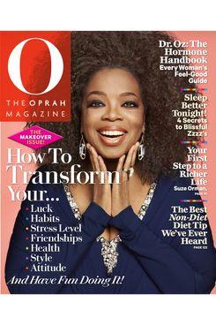 Oprah's natural hair.