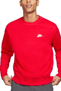 Nike Men's Club Crew Fleece Sweatshirt