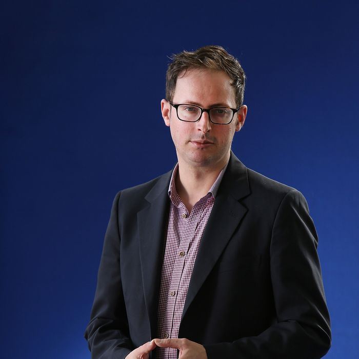 Nate Silver, American statistician, political forecaster and author of 'The Signal And The Noise', appears at a photocall prior to an event at the 30th Edinburgh International Book Festival, on August 13, 2013 in Edinburgh, Scotland. The Edinburgh International Book Festival is the worlds largest annual literary event, and takes place in the city which became a UNESCO City of Literature in 2004.