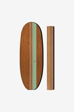 Ebb & Flo Classic Log in Bamboo, Aqua