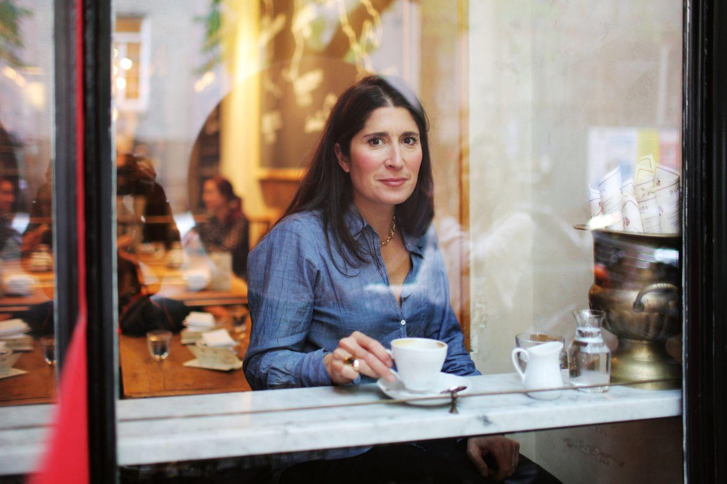 Guzmán at Buvette, one of her go-to restaurants.