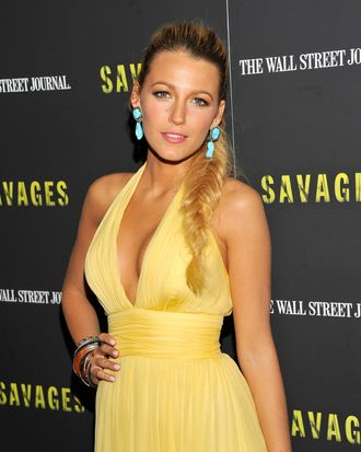 Actress Blake Lively attends the