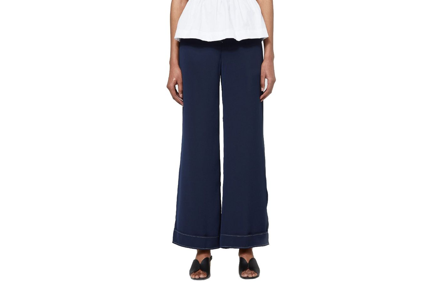 Stelen Stitched Wide Pants