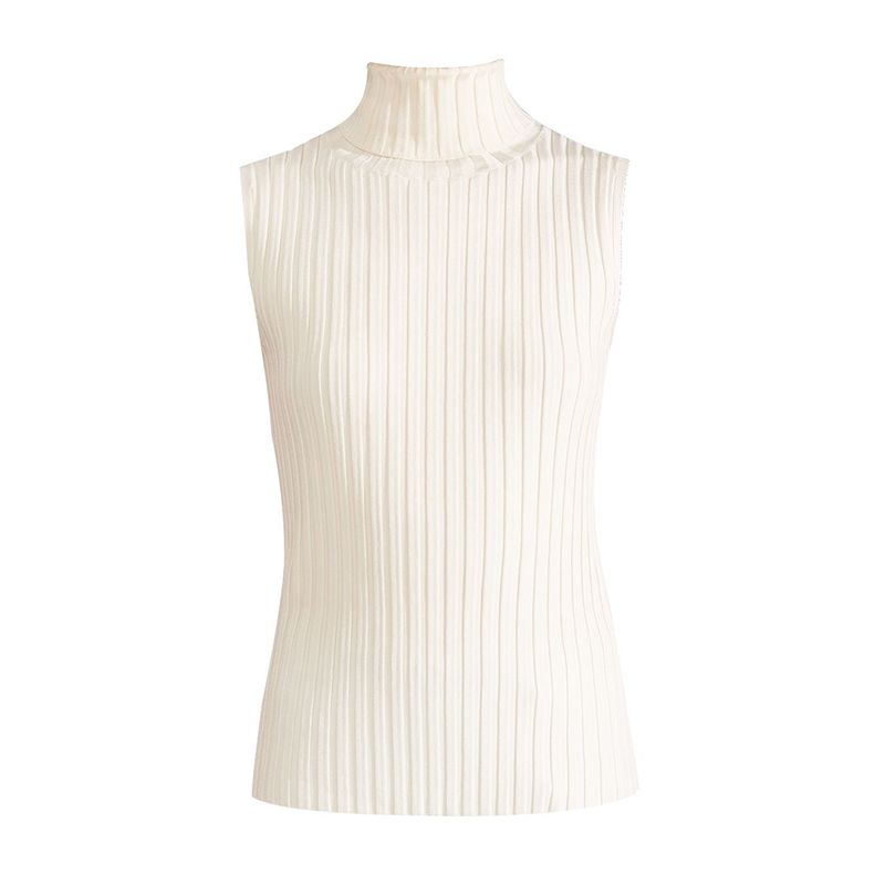 Stefania Sleeveless Turtleneck
