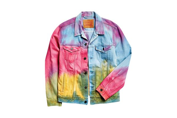 Levi's tie-dye denim jacket