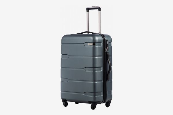 COOLIFE Luggage Suitcase PC+ABS Spinner Built-in TSA Lock