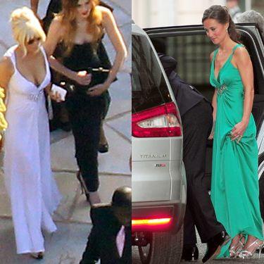 Lindsay Lohan and Pippa Middleton.