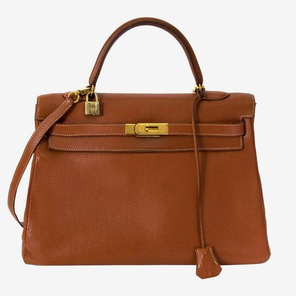 Hermès Kelly 35 Etrusque GHW