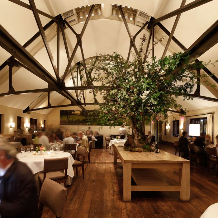 Adam Platt named Blue Hill at Stone Barns the Absolute Best Restaurant in New York.