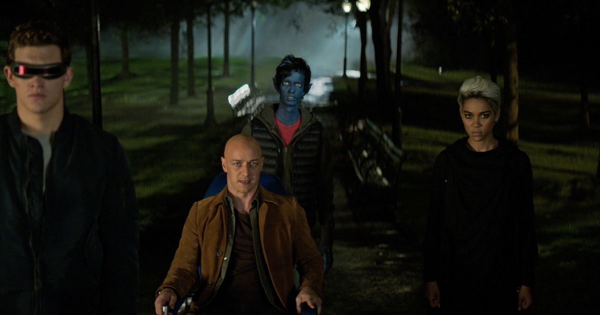 The Summer's Silliest Action Sequence Is the X-Men Trying to Cross the Street
