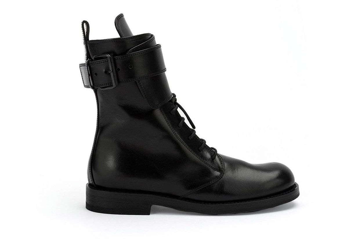 Ann Demeulemeester lace-up combat boots
