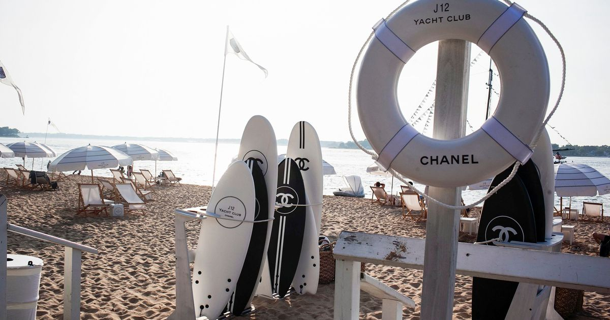 Chanel's Take on a Yacht Club Is Everything You Think It Is