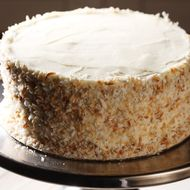 Wells did love Telepan Local pastry chef Larissa Raphael's coconut cake.