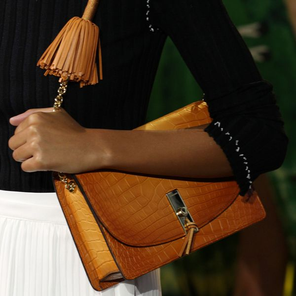 Altuzarra leather tassel