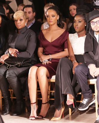 Rihanna at New York Fashion Week