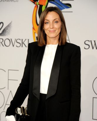 Phoebe Philo at the 2011 CFDA Awards.