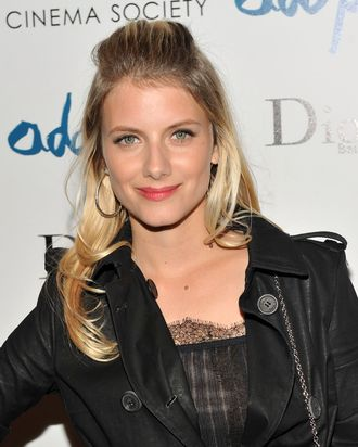 Writer/director/actress Melanie Laurent attends the Cinema Society & Dior Beauty screening of