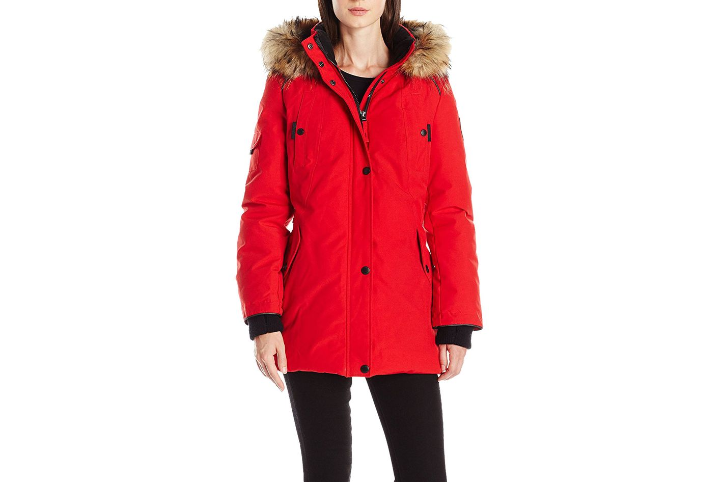 Alpinetek mid-length down parka