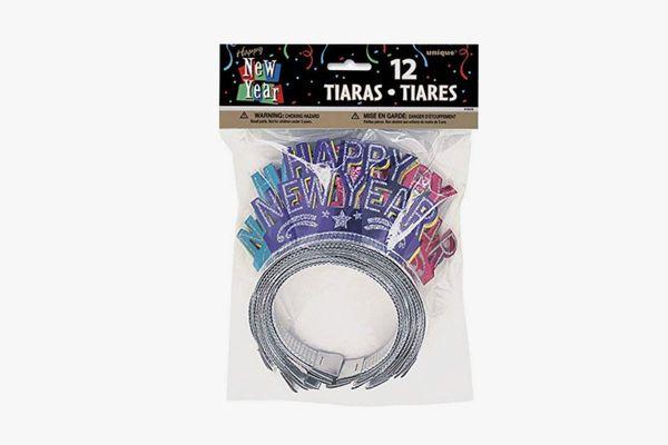 Unique Glitter New Years Tiaras