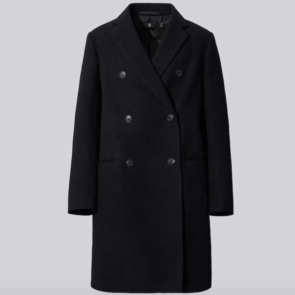 +J DOUBLE-FACE DOUBLE-BREASTED COAT