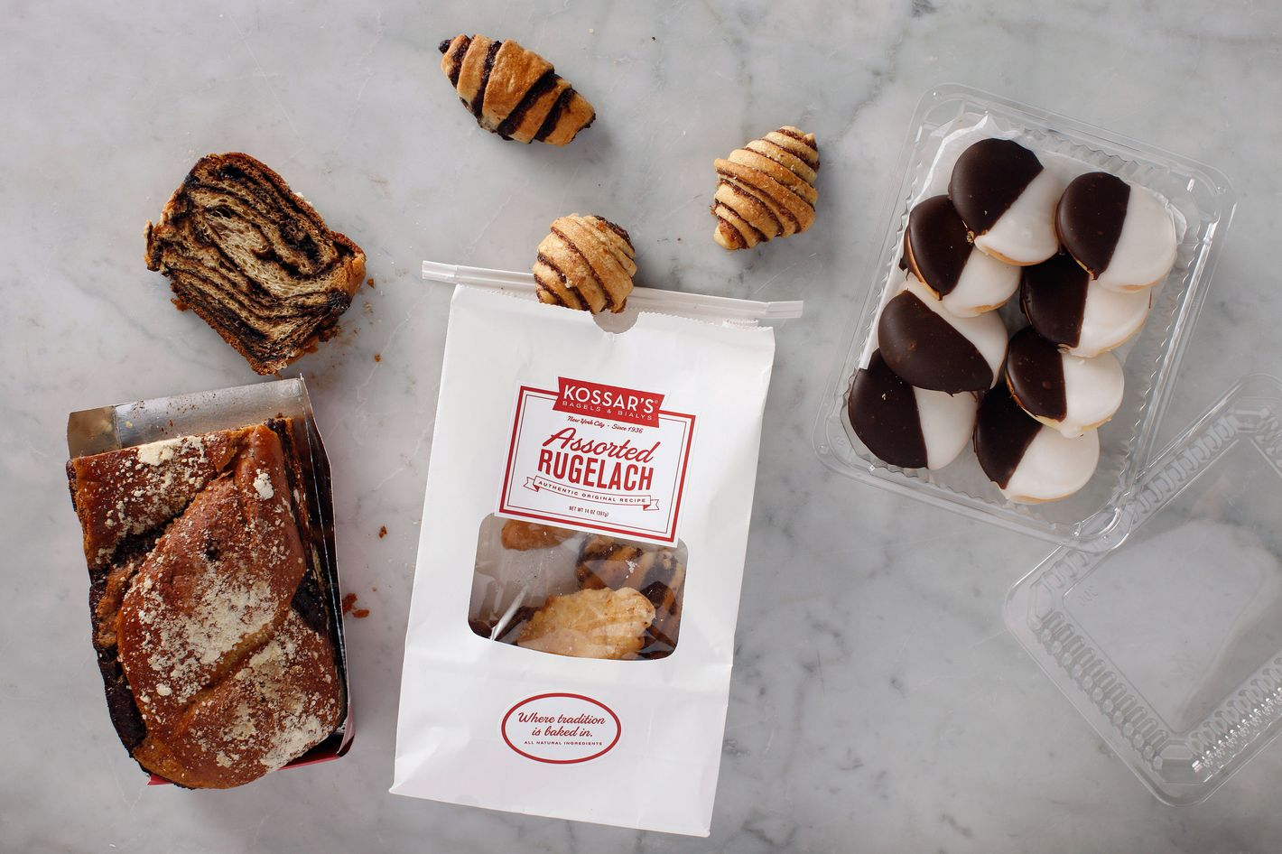 Along with the babka Giniger and Zablocki introduced in 2013, sweets will include rugelach and mint-black-and-white cookies.