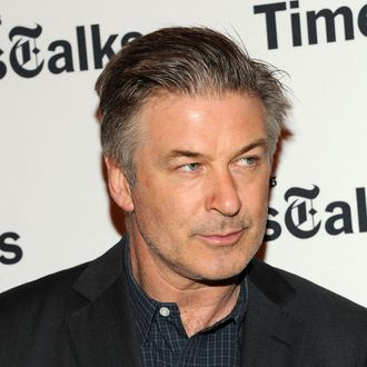 NEW YORK, NY - APRIL 15: Actor Alec Baldwin attends TimesTalks Presents:
