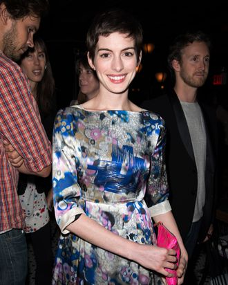 Anne Hathaway - The Peggy Siegal Company Presents a Special NY Screening of Sony Pictures Classics' CELESTE AND JESSE FOREVER - Landmark Sunshine