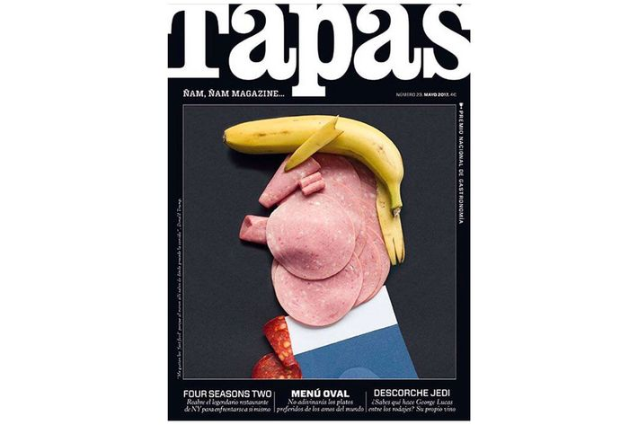 Image result for tapas donald trump cover