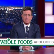 Watch Stephen Colbert Tackle Whole Foods' Many Recent Scandals