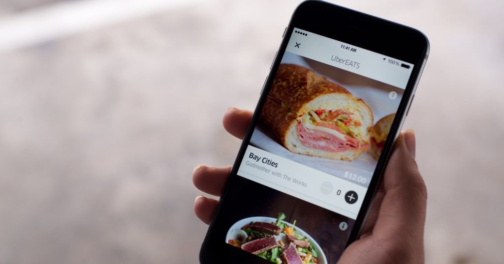 Uber S Food Delivery App Is Launching In 10 U S Cities