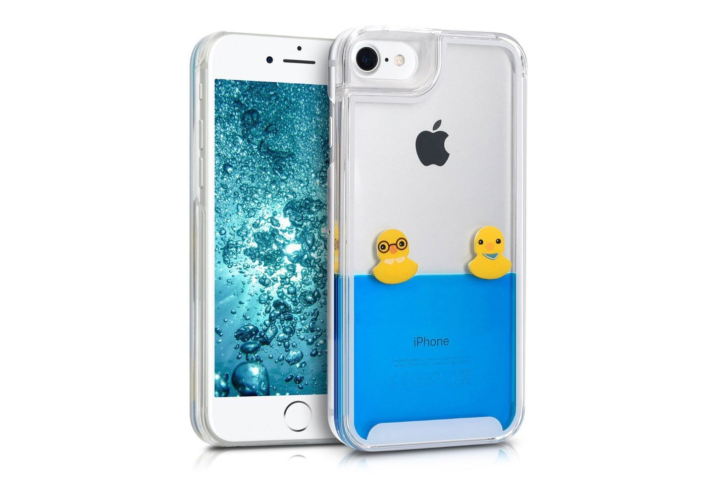 Kwmobile Hardcase Cover for Apple iPhone 7 / 8 with liquid