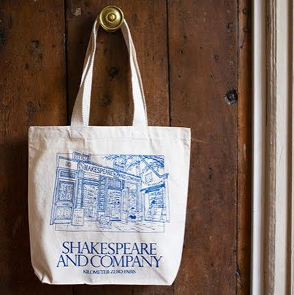 Shakespeare and Company Classic Shop Facade Tote Bag