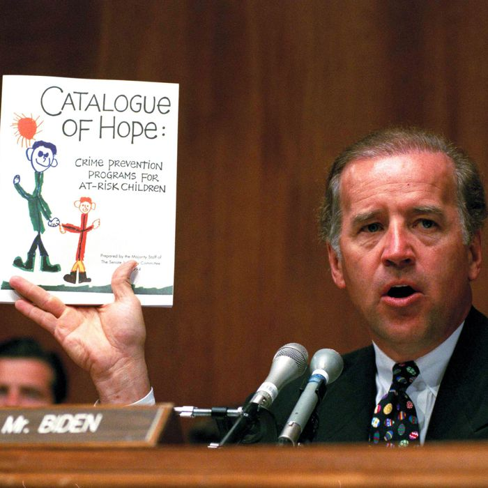 Joe Biden was a key Democratic proponent of 'tough on crime' policies in the 1990s.