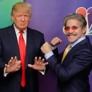 Geraldo Rivera Offers to Take His 'Demonized' Pal Donald Trump Out for Mexican Food