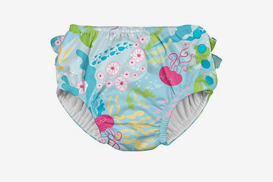 Fish Enrich YLife Adjustable Reusable Snap Swim Diaper for Boys /& Girls Baby One Size Washable Swimsuit