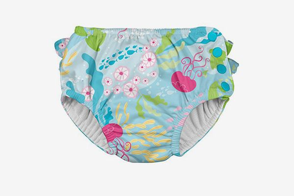 i play. Ruffle Snap Reusable Swimsuit Diaper
