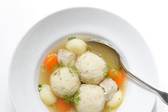 Matzo Ball Soup From DBGB.