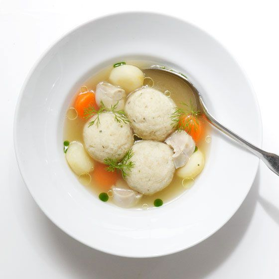 Matzo Ball Soup From DBGB.