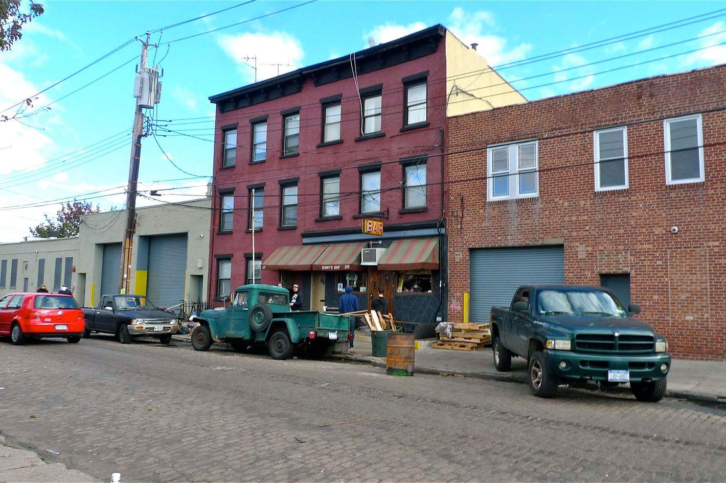 Sunny's, six days after Hurricane Sandy.