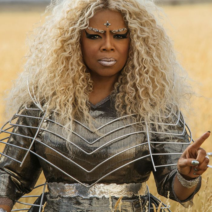The Story Behind Blonde Oprah In A Wrinkle In Time