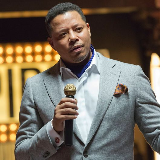 "EMPIRE: Lucious (Terrence Howard) hosts a showcase for investors in the ""Our Dancing Days"" episode airing Wednesday, Feb. 18 (9:01-10:00 PM ET/PT) on FOX. ?2014 Fox Broadcasting Co. CR: Chuck Hodes/FOX"