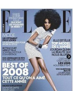 A 2008 cover of French <em>Elle</em>.