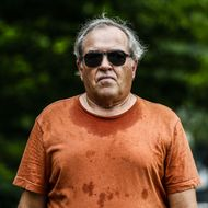 A man walks in Central Park as temperatures in Manhattan hit 90 degrees F (32C) for the first time in 2015, in New York City on June 11, 2015. AFP PHOTO/ Kena Betancur        (Photo credit should read KENA BETANCUR/AFP/Getty Images)