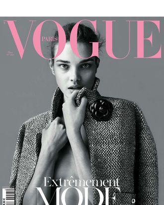 Natalia Vodianova for Vogue Paris.
